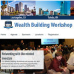 Micro site for ongoing ETC Wealth Building workshops